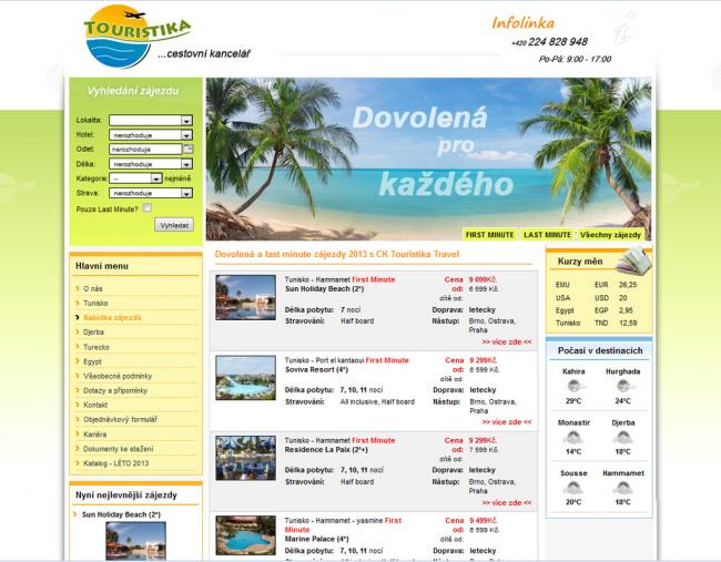 CK Touristika Travel, s.r.o.